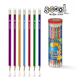 Creion hexagonal HB, calitate premium