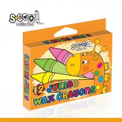 Creioane cerate JUMBO 12 culori