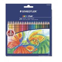 Set de 24 creioane colorate NORIS - set normal