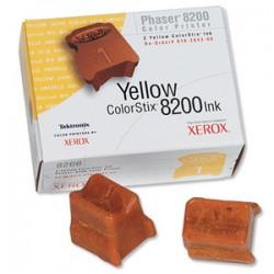 Cerneala solida Xerox 016204300, 2 rezerve yellow Phaser 8200