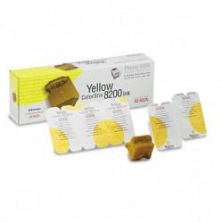 Cerneala solida Xerox 016204700, 5 rezerve yellow Phaser 8200
