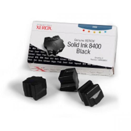 Cerneala solida neagra Xerox 108R00604  Phaser 8400 - set 3 rezerve