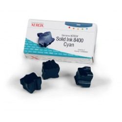 Cerneala solida cyan Xerox 108R00605 Phaser 8400 - set 3 rezerve