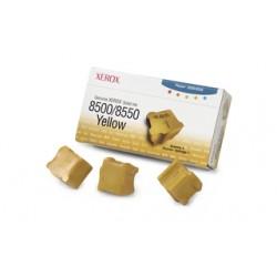 Cerneala solida yellow Xerox 108R00671  Phaser 8500/8550 - set 3 rezerve
