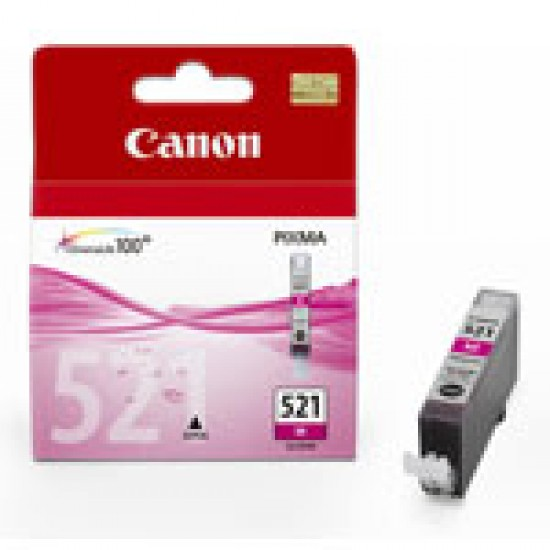 Cartus cerneala Canon CLI-521 magenta CLI-521M