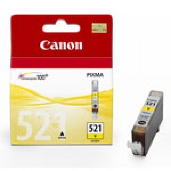 Cartus cerneala Canon CLI-521 yellow CLI-521Y