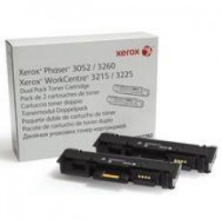 Toner Xerox 106R02782 Phaser 3260 / 3052, WorkCentre 3215 / 3225 Dual pack