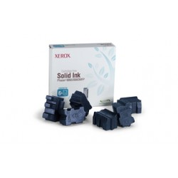 Cerneala solida cyan Xerox 108R00817 Phaser 8860 - 6 rezerve