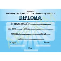 Diploma  scolara model s13
