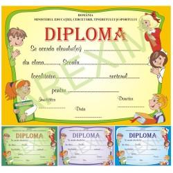 Diploma gradinita si clasele mici model 14_03