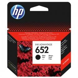 Cartus cerneala HP 652 negru F6V25AE