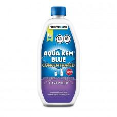 Solutie concentrata dezinfectare rezervor rezidual toalete portabile Aqua Kem Blue Lavanda
