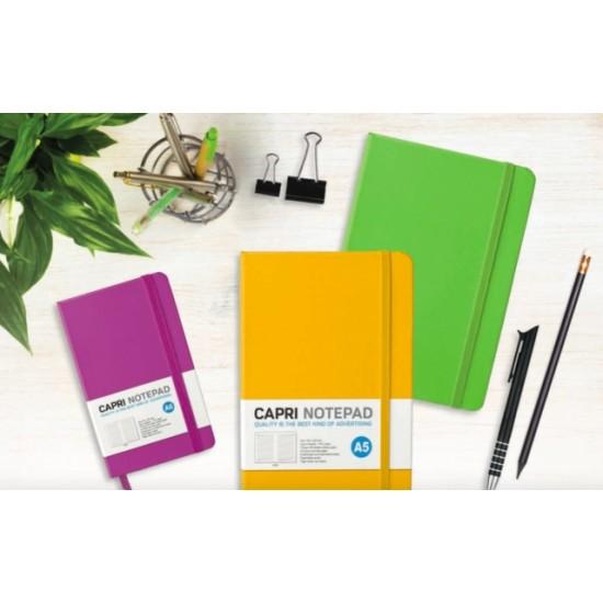 Agenda CAPRI nedatata A5, diverse culori