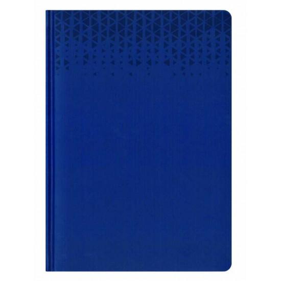 Agenda nedatata A6 Standard albastra