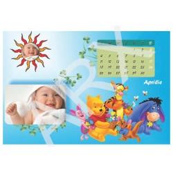 Calendar personalizat cu desene animate
