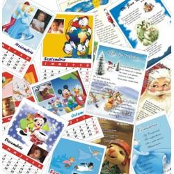 Calendar de birou 002P A5 fata/verso poezii/agenda/planse de colorat