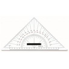 Echer Nautica  (echer de navigatie) 45°, 26 cm