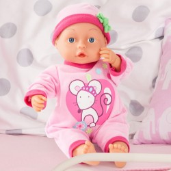 Papusa Bayer First Words Baby 28 cm