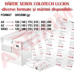 Hartie Xerox Colotech lucios (gloss) A3 140g