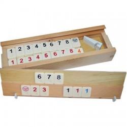 Remi in cutie de  lemn, piese OS