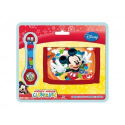 Set cadou ceas digital + portofel MICKEY