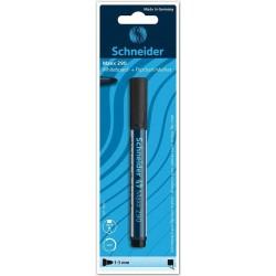 Marker (blister) negru whiteboard si flipchart Schneider 290 negru 1-3 mm